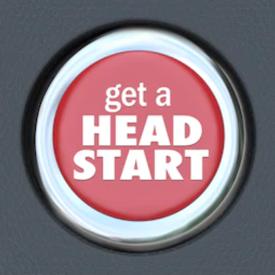 Get a head start - James Kristian