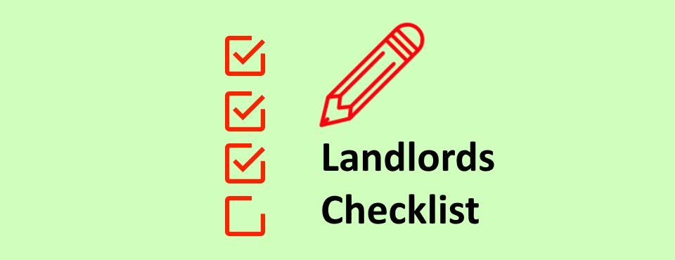 Landlords Checklist - James Kristian